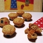 Mini Banana Spice Muffins