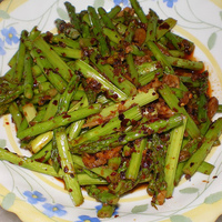 Asparagus Chicken Stir Fry