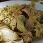 Braised Rabbit with Leeks and Fennel