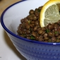 Lentils are a cool legume when cooled for Lemon Lentil Salad