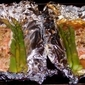 Easy Honey Dijon Salmon in Asparagus