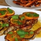 Mojo Pork Cutlets with Sweet Potato Wedges