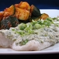 Baked Haddock with Dill-Sour Cream