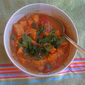 Curried Peanut and Tomato Soup