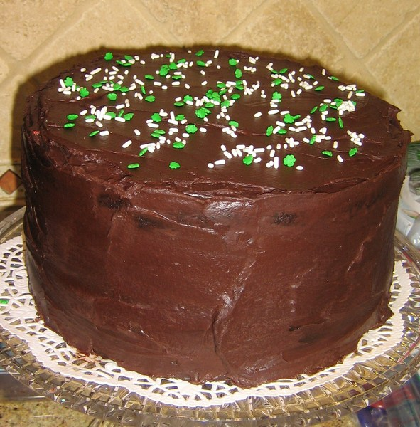Irish Chocolate Stout Cake Recipe by Nancy - CookEatShare