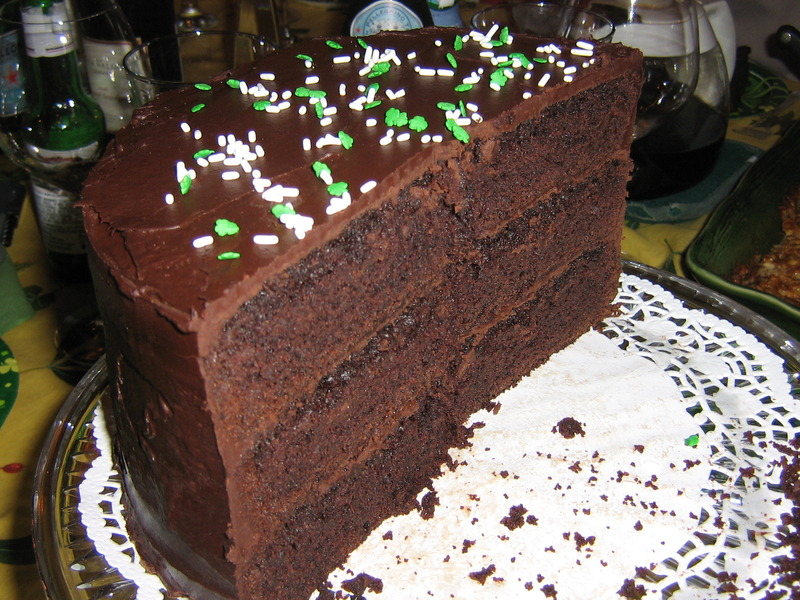 Irish Chocolate Stout Cake - クック・イート・シェア