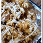 Cinnamon Caramel Popcorn with Pecans & White Chocolate Drizzle!