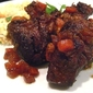 Braised Short Ribs on Cauliflower Puree