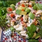 Chicken salad with the flavors of Mexico
