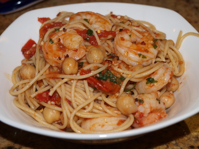 Spaghetti With Chickpeas Recipes — Dishmaps