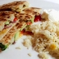 Meatless Monday - Chik'n & Avocado Quesadillas