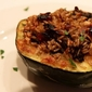 Meatless Monday - Stuffed Acorn Squash