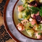 Warm Octopus w. Potato and Parsley