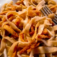 Ciceri e Tria - Chick Pea Pasta with a Crunch