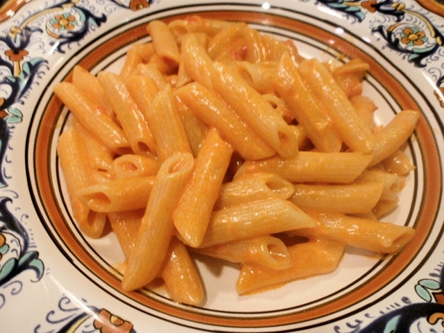 Penna alla vodka (Penne with Vodka Sauce) Recipe by Frank ...