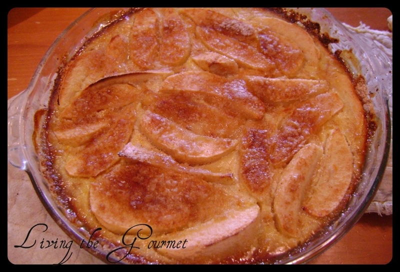 Apple Custard Pie with Oatmeal Crust Recipe by Catherine ...