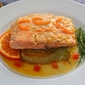 The jealousy of the salmon – Salmon à l'orange on braised fennel