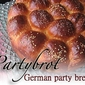 Partybrot - German party bread