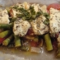 Chicken en Papillote with Vegetables