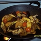 Eggplant with Potatoes and Cherry Tomatoes
