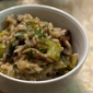 Risotto with Brussels Sprouts and Mushrooms Recipe