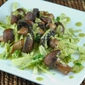 Grilled Cremini Mushroom and Fennel Salad