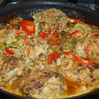 Chicken Braised in Coconut Milk