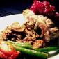Mushroom-Turkey Roulade