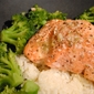Salmon with Salmoriglio Sauce