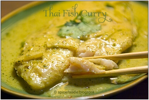 Thai Fish Curry or Kaeng Khieu Wan Pla Recipe by Spicie - CookEatShare