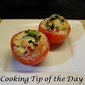 Recipe: Stuffed Tomatoes with Tuna and Herbed Goat Cheese