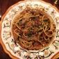 Spaghetti alla cipolla rossa e alici