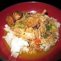 Chicken, Andouille and Shrimp Gumbo Recipe by Sofia - CookEatShare