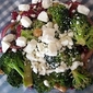 Bean and Broccoli Salad with Walnuts and Feta