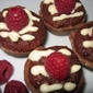 Decadent Raspberry Brownie Tassies
