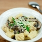 Gnocchi in Creamy Mushroom Sauce (Gnocchi Party)