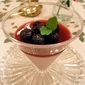 Blueberry and Red Wine Ruby Mousse