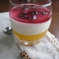 Vegetable and Fruit Yoghurt Mousse
