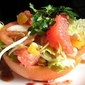 Grapefruit Salad with Water Chestnuts