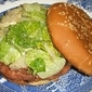 Delicious And Blissfully Messy Caesar Salad Burgers In Memory of The Split T in Oklahoma City