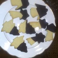 biscotti natalizi di pasta frolla e cioccolato