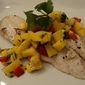 Grilled Tilapia with Mango Salsa