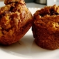 Pumpkin Dark Chocolate Chip Muffins