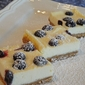 Meyer Lemon Blueberry Cheesecake Bars