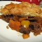 Steak and Sweet Potato Pie