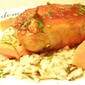 Pork Chops with Cara Cara Honey Soy Sauce