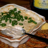 Happy Hour Friday Lightened Up Crab Dip