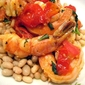 What's for Dinner? Tuscan Shrimp w/ White Beans