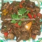 CAPSICUM FLAVOURED CHICKEN LIVER GRAVY