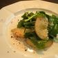 Vegan Peach and Luccola Salad